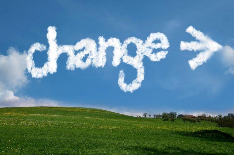 Jedyną stałą jest zmiana w naszym życiu